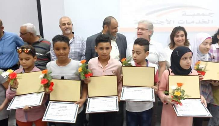 Suez Cement Company honoring top sons of workers_14.